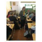 Нашу школу посетила народная художница из Литвы - Одета Туманайте Браженене