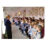 Торжественная линейка в начальной школе