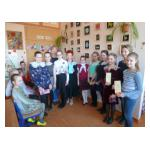 В школе открылась выставка