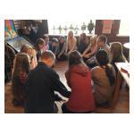 У нас в гостях ребята и учителя из школы Контиолахти (Финляндия)
