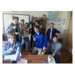Финские студенты колледжа Riveria у нас на практике!