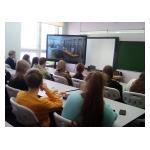 15 февраля в 10Б и 11х классах нашей школы прошли занятия с представителями Академии ФСО (г. Орёл) и военного института правительственной связи (г. Воронеж)